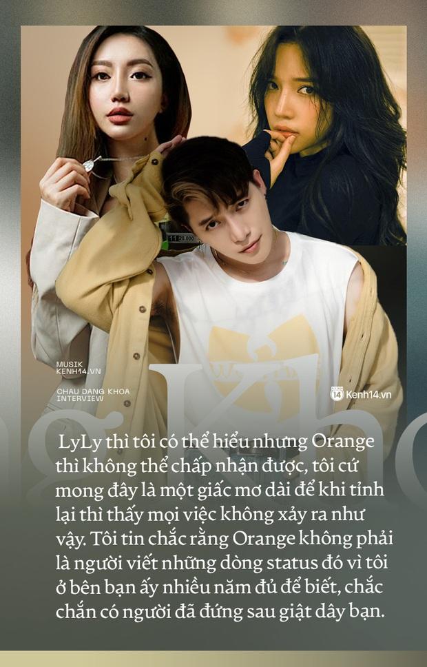 Châu Đăng Khoa: Tôi vẫn thương và xem clip của Orange mỗi ngày, nhưng không thể tha thứ! - Ảnh 17.