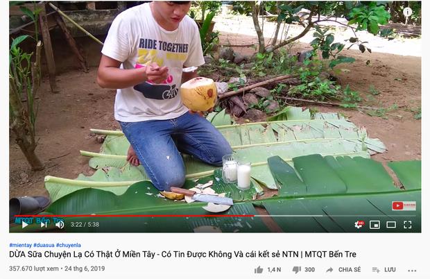 """Trái dừa màu hồng kỳ lạ đang khiến dân mạng bàn tán xôn xao trên TikTok: Là thật hay lại chiêu trò """"câu view""""? - Ảnh 7."""