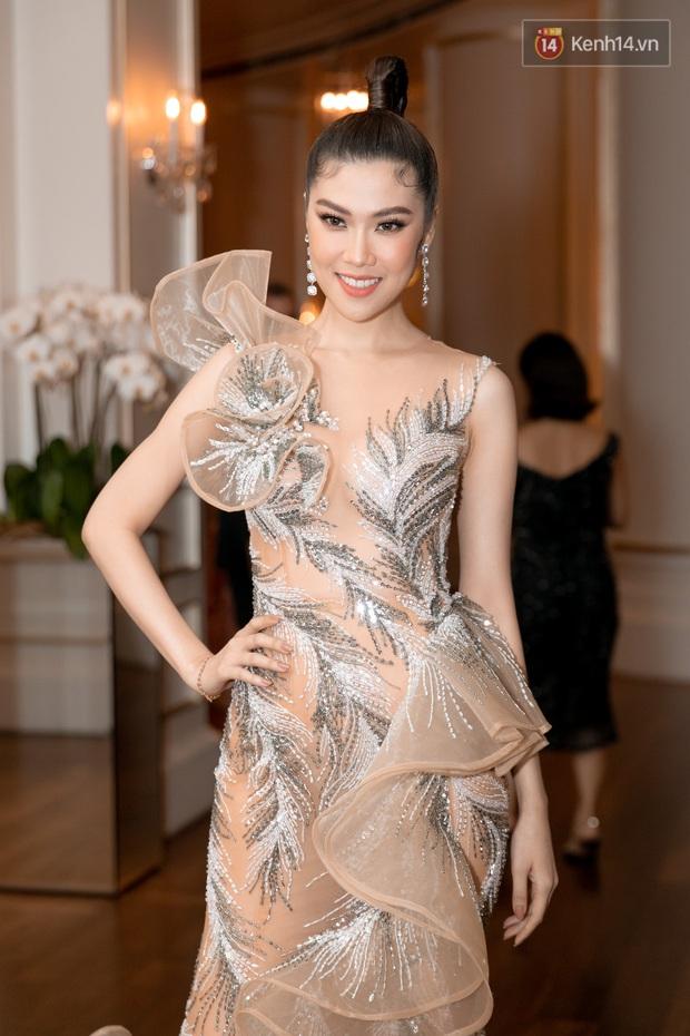 """Thảm đỏ show diễn toàn Hoa hậu của NTK Hoàng Hải: H'Hen Niê """"chặt chém"""" với tóc hồng, nổi bật giữa dàn mỹ nhân đình đám - Ảnh 5."""