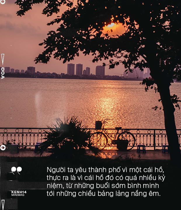 Nếu Hà Nội là nhà thì hồ Tây là tri kỉ: Tuổi trẻ vui buồn, ai cũng để lại bao nhiêu kỷ niệm của mình ở nơi này - Ảnh 3.
