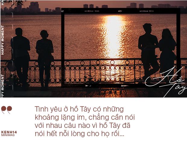 Nếu Hà Nội là nhà thì hồ Tây là tri kỉ: Tuổi trẻ vui buồn, ai cũng để lại bao nhiêu kỷ niệm của mình ở nơi này - Ảnh 4.