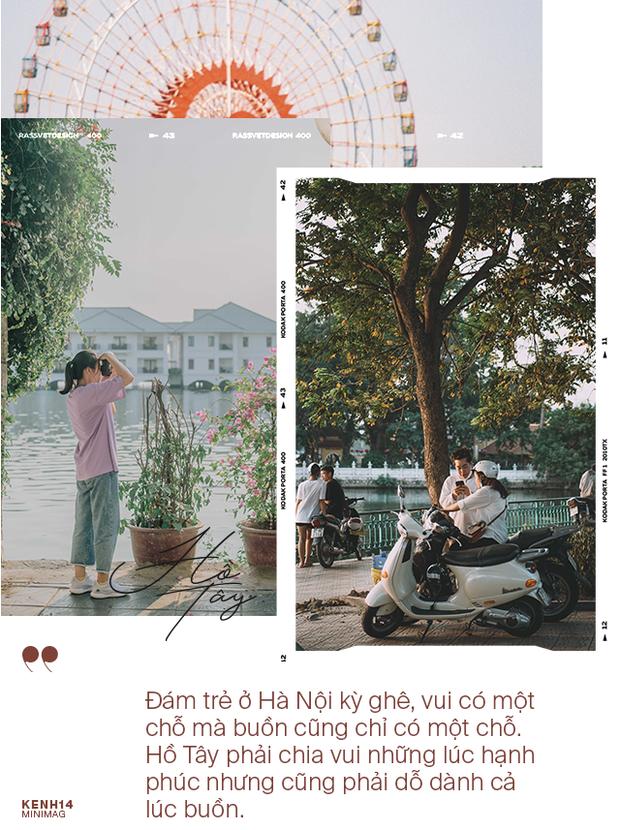 Nếu Hà Nội là nhà thì hồ Tây là tri kỉ: Tuổi trẻ vui buồn, ai cũng để lại bao nhiêu kỷ niệm của mình ở nơi này - Ảnh 6.