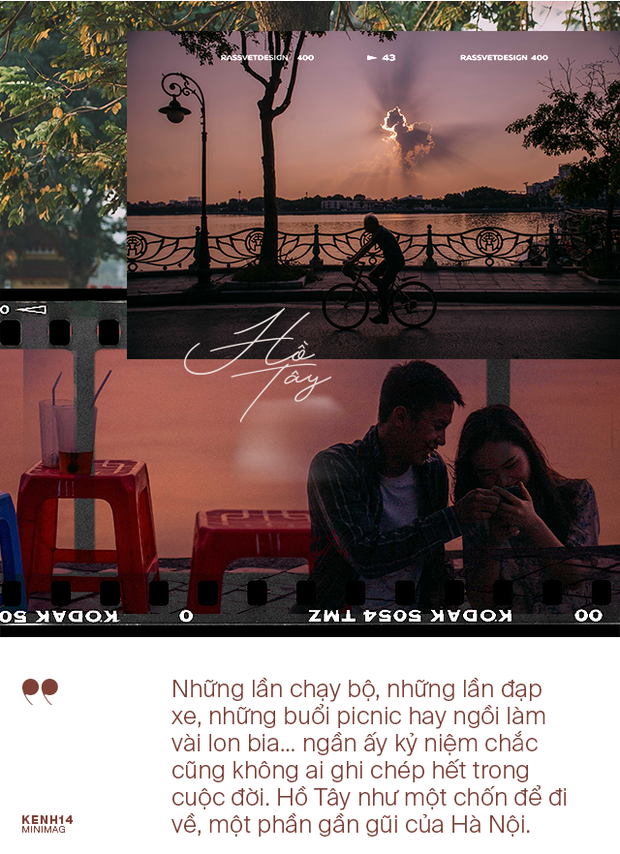 Nếu Hà Nội là nhà thì hồ Tây là tri kỉ: Tuổi trẻ vui buồn, ai cũng để lại bao nhiêu kỷ niệm của mình ở nơi này - Ảnh 9.
