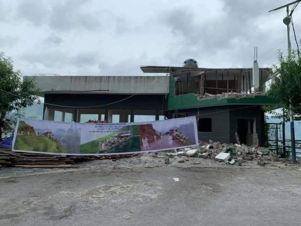Nóng: Phá dỡ, cải tạo tòa nhà trái phép Mã Pì Lèng Panorama - Ảnh 1.