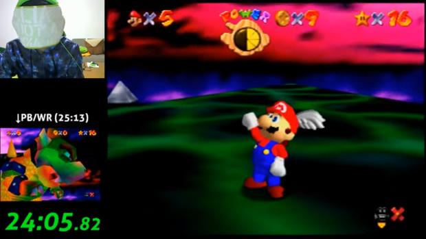 Vừa bịt mắt vừa chơi Mario 64, thanh niên Nhật Bản phá luôn kỷ lục thế giới - Ảnh 2.