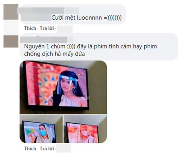 Cười ra nước mắt vì nụ hôn sáng tạo sau nón chắn dịch ở phim Ấn Độ mùa giãn cách - Ảnh 7.