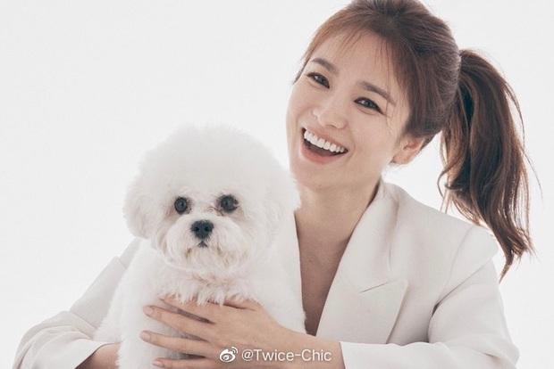 Song Hye Kyo lần đầu lộ diện sau tin đồn Song Joong Ki hẹn hò nữ luật sư, nhan sắc và biểu cảm gây chú ý - Ảnh 4.