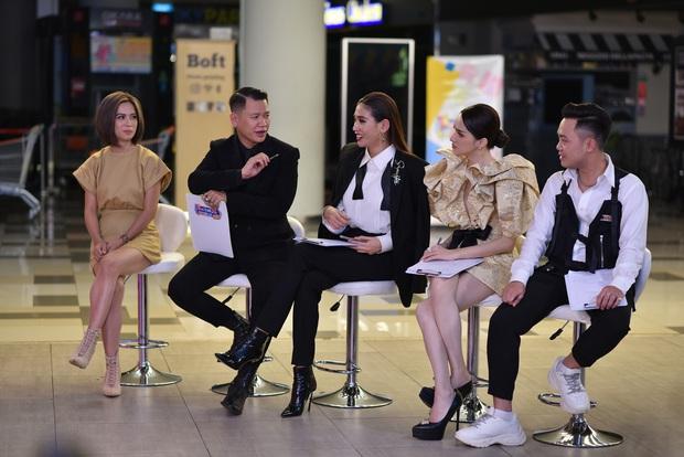 Võ Hoàng Yến bênh vực Hương Giang trên ghế giám khảo thời trang - Ảnh 1.