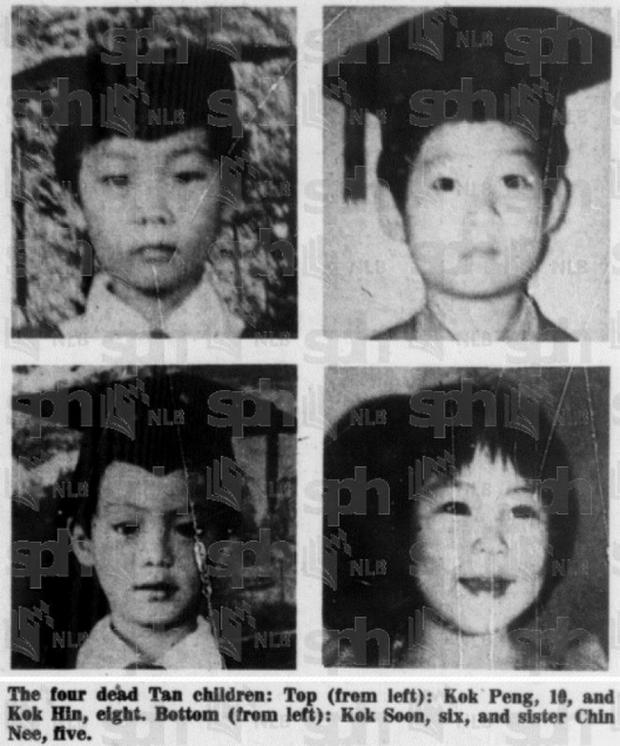 Vụ án ám ảnh suốt 40 năm ở Singapore: 4 đứa trẻ bị sát hại đúng dịp năm mới, thiệp mừng gây lạnh gáy từ hung thủ mà ai cũng biết - Ảnh 1.