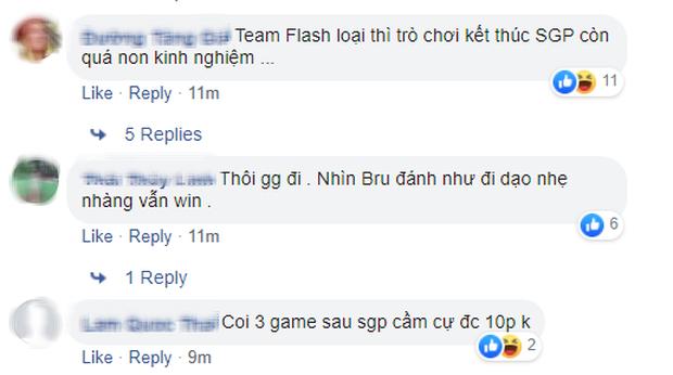 Fan thất vọng khi chứng kiến SGP bị hủy diệt trước BRU: Top 1 rank Thái nhưng không làm được gì người Thái Lan - Ảnh 4.