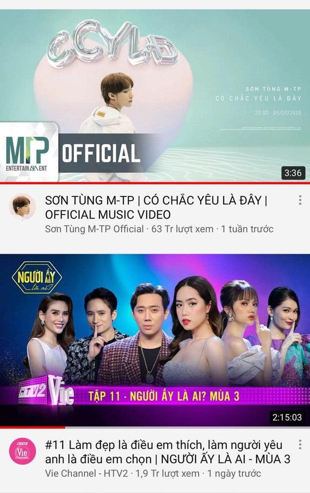 Sau 2 tuần mất hút, Người ấy là ai trở lại top trending, đe dọa soán ngôi vương của Sơn Tùng M-TP - Ảnh 3.