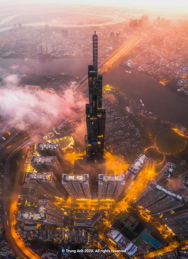 Khoảnh khắc 2 toà tháp cao nhất Sài Gòn vô tình lọt chung khung hình khiến dân mạng thảng thốt: Đẹp như cảnh trong phim Hollywood vậy! - Ảnh 8.