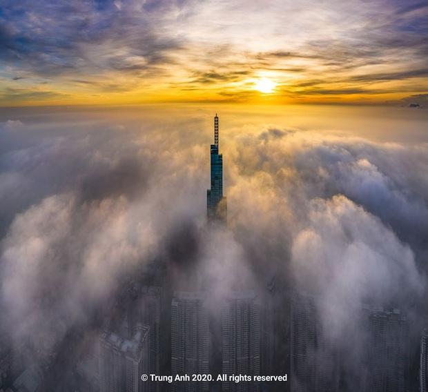 Khoảnh khắc 2 toà tháp cao nhất Sài Gòn vô tình lọt chung khung hình khiến dân mạng thảng thốt: Đẹp như cảnh trong phim Hollywood vậy! - Ảnh 13.