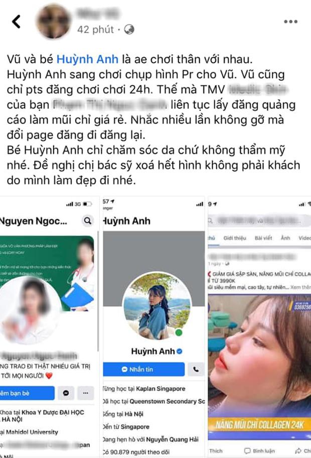 Xôn xao hình ảnh Huỳnh Anh (bạn gái Quang Hải) đi phẫu thuật thẩm mỹ: Chủ nhân bức ảnh nói gì? - Ảnh 2.
