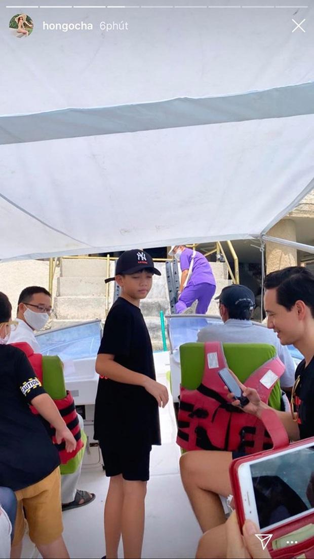 Hà Hồ khoe ảnh du lịch sang chảnh, hành động đặc biệt của bố dượng Kim Lý dành cho Subeo chiếm trọn spotlight! - Ảnh 4.