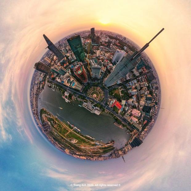 Khoảnh khắc 2 toà tháp cao nhất Sài Gòn vô tình lọt chung khung hình khiến dân mạng thảng thốt: Đẹp như cảnh trong phim Hollywood vậy! - Ảnh 12.