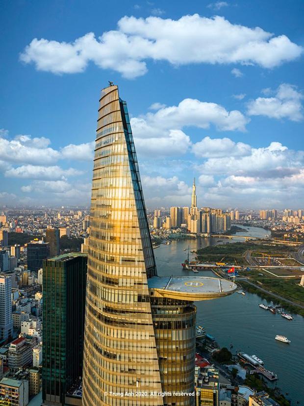 Khoảnh khắc 2 toà tháp cao nhất Sài Gòn vô tình lọt chung khung hình khiến dân mạng thảng thốt: Đẹp như cảnh trong phim Hollywood vậy! - Ảnh 5.