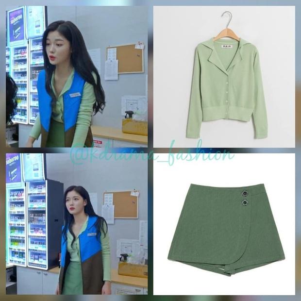 Vào vai cô nhân viên cửa hàng tiện lợi, mỹ nhân Kim Yoo Jung diện đồ hết sức bình dân, có nhiều món giá chỉ loanh quanh 500k - Ảnh 4.