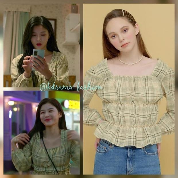 Vào vai cô nhân viên cửa hàng tiện lợi, mỹ nhân Kim Yoo Jung diện đồ hết sức bình dân, có nhiều món giá chỉ loanh quanh 500k - Ảnh 5.