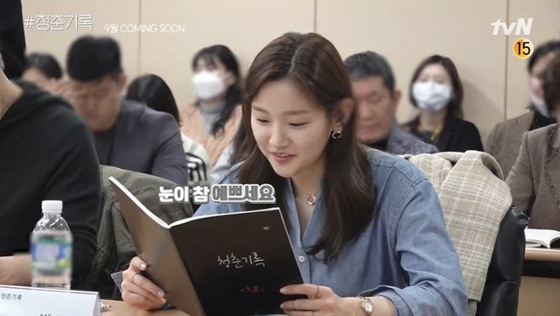 Park Bo Gum xuất hiện cực bảnh, sánh đôi với thiên tài lửa đảo Parasite Park So Dam ở buổi đọc kịch bản phim mới  - Ảnh 4.
