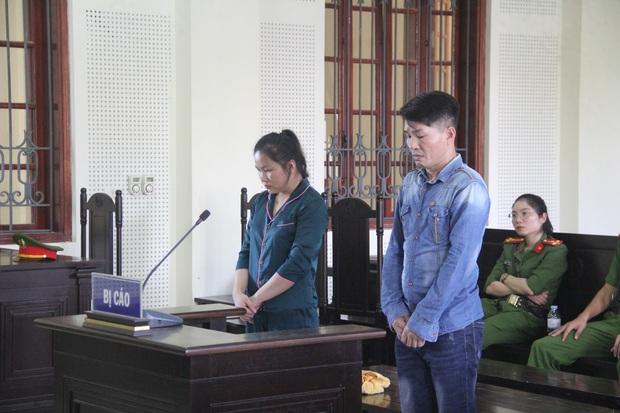 Vũ Văn Tuấn và Lương Thị Hà khai nhận hành vi phạm tội của mình.