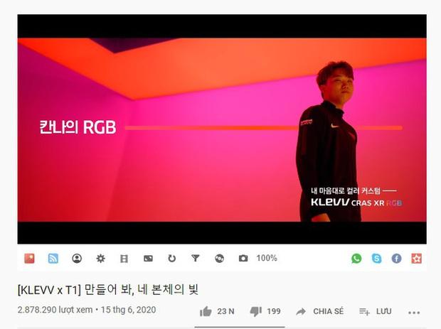 Độ hot của thương hiệu T1 khủng khiếp cỡ nào: Đóng clip quảng cáo thôi cũng sương sương gần 3 triệu view trên YouTube - Ảnh 2.