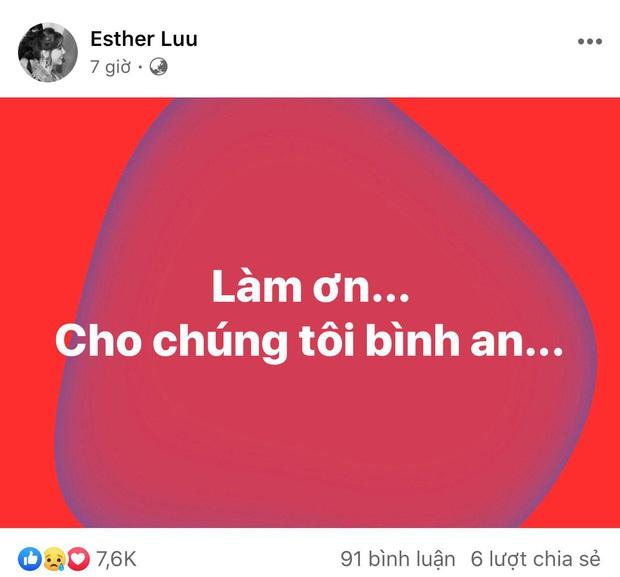 Giữa đêm, Hari Won bất ngờ đăng status mong được bình an, chuyện gì đây? - Ảnh 2.