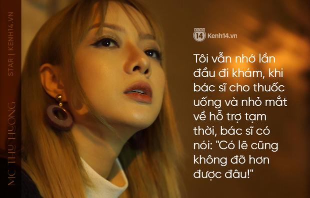MC Thu Hương nghẹn ngào kể về bệnh có nguy cơ mù 2 mắt: Tôi sốc, nhiều đêm không ngủ, mẹ biết tin chính xác qua link báo - Ảnh 5.