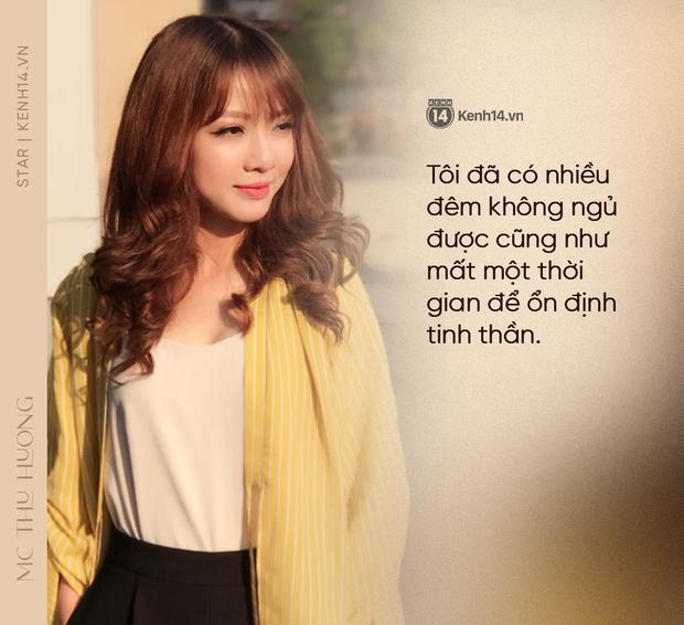 MC Thu Hương nghẹn ngào kể về bệnh có nguy cơ mù 2 mắt: Tôi sốc, nhiều đêm không ngủ, mẹ biết tin chính xác qua link báo - Ảnh 3.