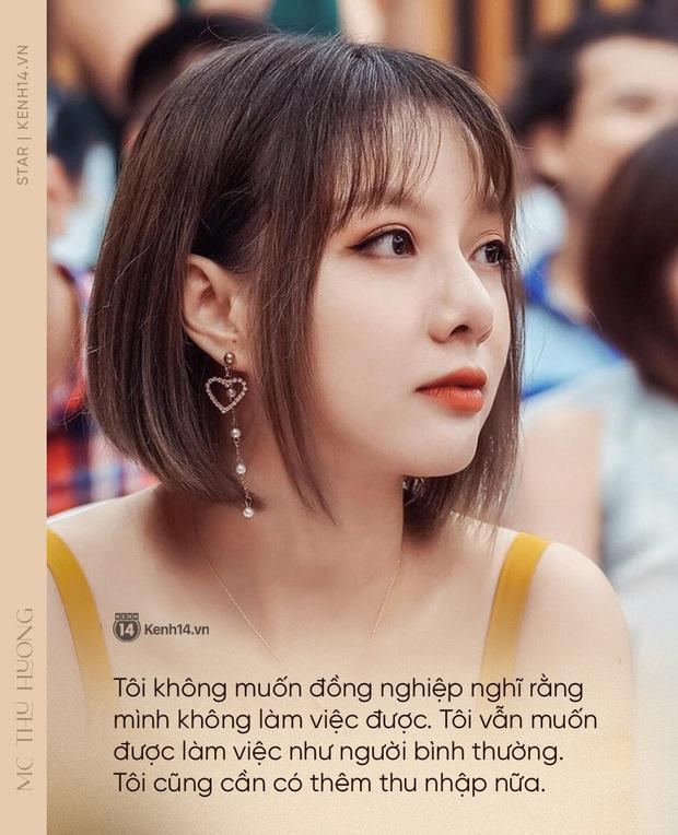 MC Thu Hương nghẹn ngào kể về bệnh có nguy cơ mù 2 mắt: Tôi sốc, nhiều đêm không ngủ, mẹ biết tin chính xác qua link báo - Ảnh 6.