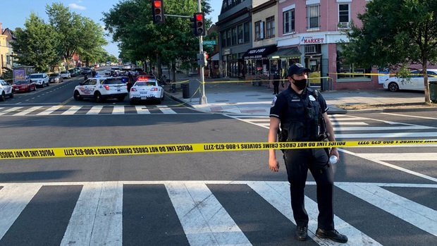 Xả súng ở Mỹ: 1 người chết, 8 người bị thương - Ảnh 1.