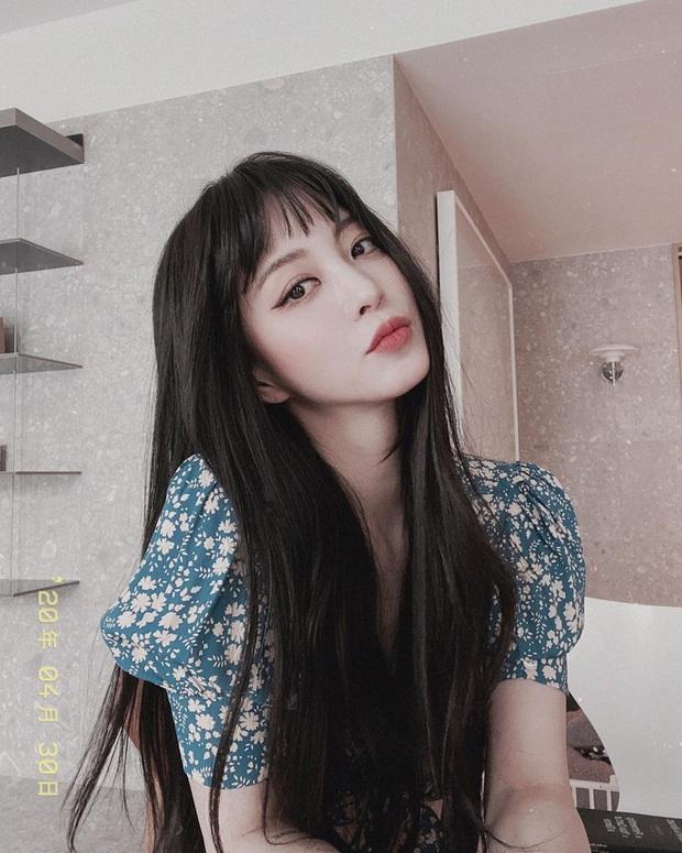 6 nàng Bạch Tuyết xứ Hàn: Da trắng, tóc đen như gỗ mun, có người 30 tuổi rồi vẫn chưa một lần nhuộm tóc - Ảnh 7.