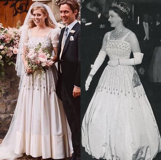 Công chúa Beatrice: Từ cô nàng thị phi, luôn gắn mác xấu tính lột xác thành cô dâu hoàng gia tinh tế được khen ngợi hết lời - Ảnh 10.