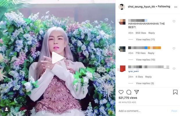 Xem How You Like That của BLACKPINK mà nhìn đâu cũng thấy T.O.P (BIGBANG), chính chủ khoe lên instagram làm ai cũng ám ảnh - Ảnh 2.