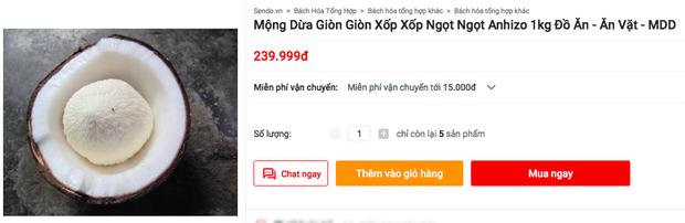 """Mộng dừa - món ăn tuổi thơ của người Việt từng bị """"độn"""" giá lên tới 300k/kg vì quá hiếm, nếu mua cái càng to thì… càng dở - Ảnh 4."""