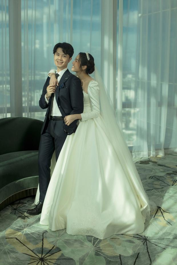 Thuý Vân tung ảnh cưới với ông xã doanh nhân trước thềm hôn lễ: Ánh mắt và nụ cười hạnh phúc nói lên tất cả! - Ảnh 5.