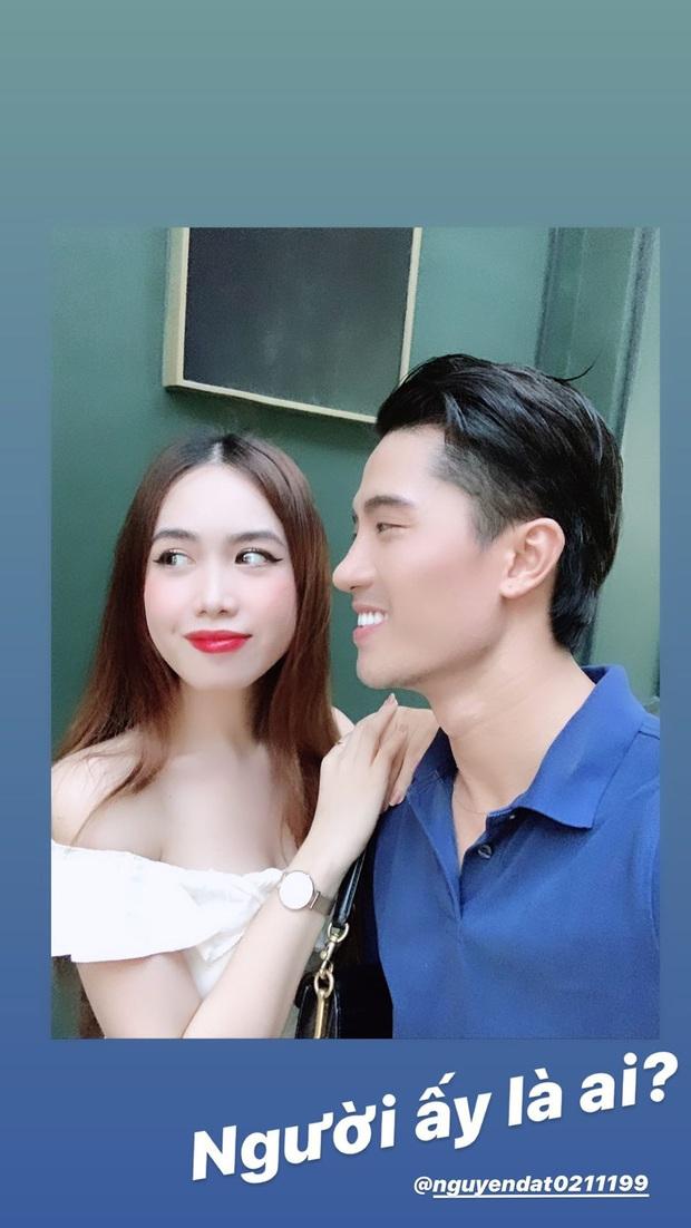 Mina Nguyễn Người ấy là ai liên tục khoe ảnh hẹn hò, thanh niên đeo giùm giỏ cho gái xinh nữa chứ quá là sến - Ảnh 3.