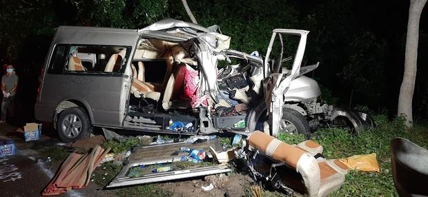 Vụ tai nạn 8 người tử vong ở Bình Thuận: Xe khách giảm tốc độ 80km/h xuống 69km/h trong 1 phút trước khi xảy ra tai nạn - Ảnh 1.