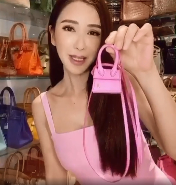 Ngọc Trinh có mua đồ hiệu mạnh tay đến mấy cũng thua nữ tỷ phú chi 350 triệu sắm chiếc túi Hermès vô dụng - Ảnh 3.
