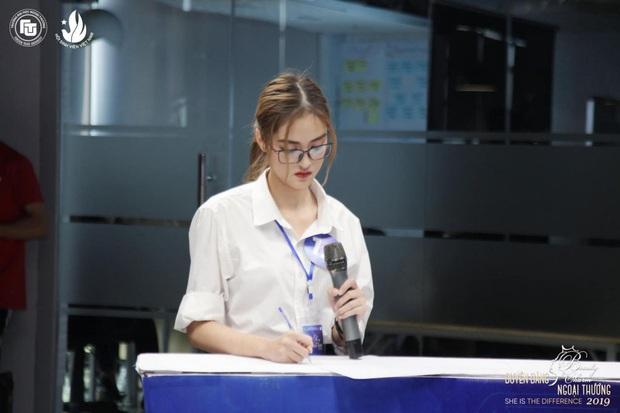 Thí sinh có thành tích học tập khét nhất Hoa hậu Việt Nam: Suýt là thủ khoa Ngoại thương, điểm tổng kết ĐH khủng - Ảnh 3.