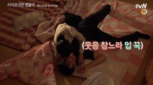 Khùng nữ Seo Ye Ji cuồng nhiệt đè ngửa Kim Soo Hyun ở hậu trường Điên Thì Có Sao - Ảnh 3.