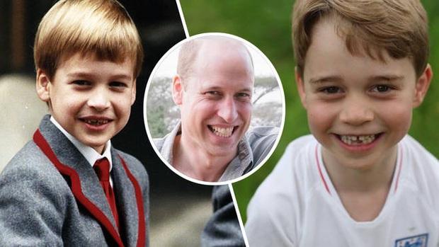 Hoàng gia Anh khoe hình ảnh mới của Hoàng tử bé George, dân mạng khen gương mặt có thần thái hệt như Hoàng tử William ngày bé - Ảnh 4.