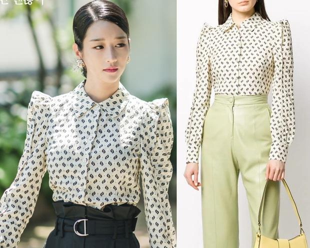 Seo Ye Ji đẹp đến độ làm lu mờ người mẫu của hãng, đồ khó cảm đến đâu cũng cân được tuốt - Ảnh 5.
