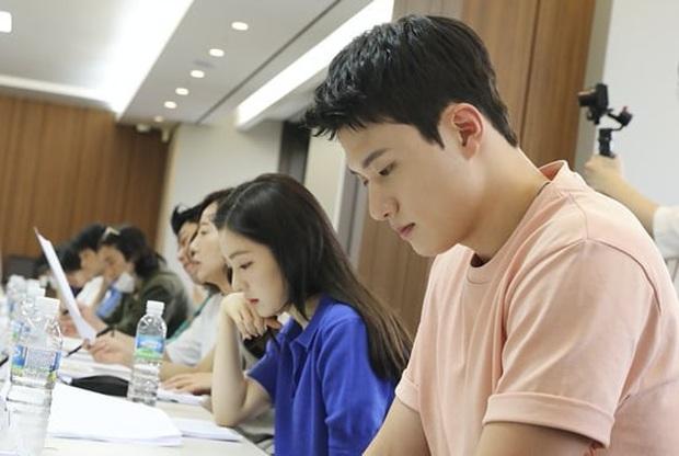Irene (Red Velvet) ngồi đọc kịch bản cũng đẹp lịm người, thần thái đỉnh thế này bảo sao không làm nữ chính - Ảnh 2.