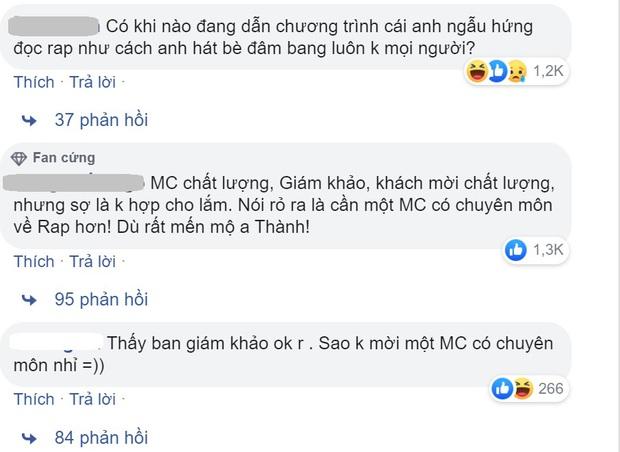 Nhiều khán giả không hài lòng khi Trấn Thành làm MC Rap Việt, Wowy lên tiếng bênh vực - Ảnh 1.
