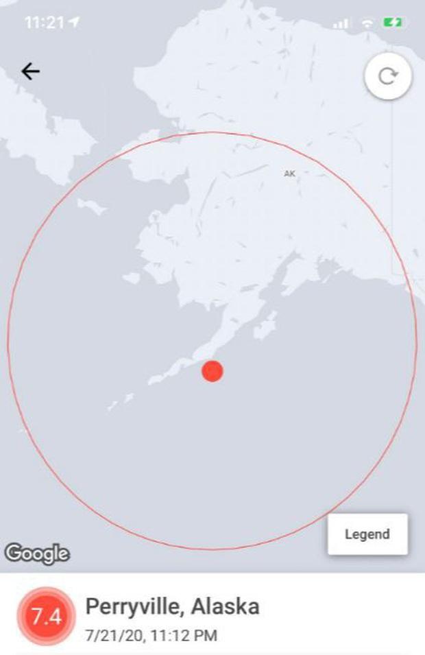 Cảnh báo sóng thần ở Alaska sau trận động đất mạnh 7,8 độ - Ảnh 1.