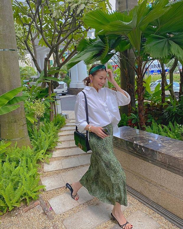 Các mỹ nhân Việt có bao cách diện chân váy siêu xinh, bạn áp dụng thì sẽ đẹp mọi lúc mọi nơi - Ảnh 11.