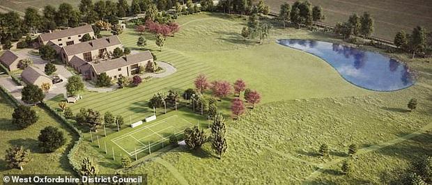 Báo Anh: Gia đình David Beckham bị hàng xóm phản ứng dữ dội vì quyết định xây hồ nước xấu xí và quái dị trong dinh thự trị giá 180 tỷ - Ảnh 3.