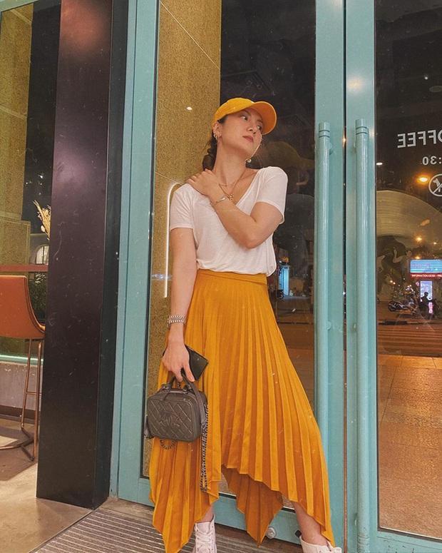 Các mỹ nhân Việt có bao cách diện chân váy siêu xinh, bạn áp dụng thì sẽ đẹp mọi lúc mọi nơi - Ảnh 4.