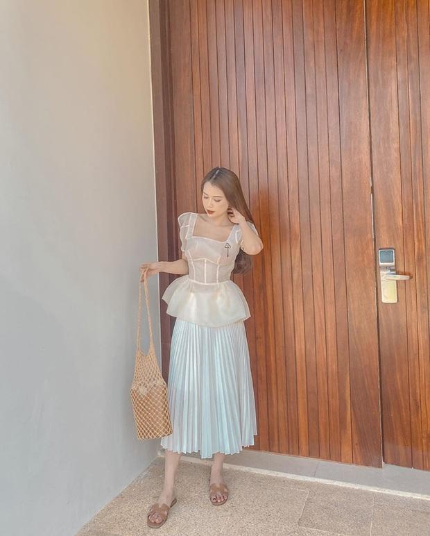 Các mỹ nhân Việt có bao cách diện chân váy siêu xinh, bạn áp dụng thì sẽ đẹp mọi lúc mọi nơi - Ảnh 8.